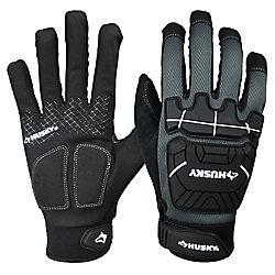 HUSKY Heavy Duty Mechanics Glove, Large