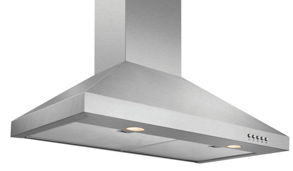 Vissani 30 inch Chimney Style Range Hood in Stainless Steel