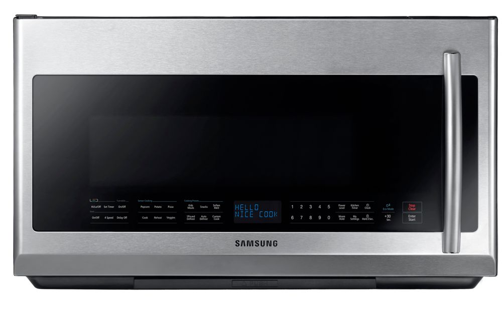2.1 cu. ft. Over-the-Range Microwave Hood/Fan Combo in Stainless Steel