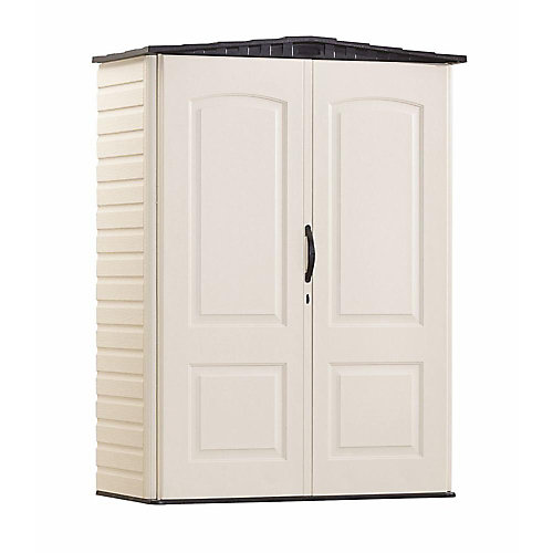 52 cu. ft. Small Vertical Storage Shed