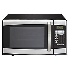 Designer 0.9 cu. ft. Countertop Microwave in Stainless Steel