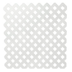 Veranda 4x8 White Priv Plastic Lattice