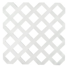 Veranda 4x8 White Reg Plastic Lattice