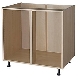 Eurostyle Corner Base Cabinet 45 Maple