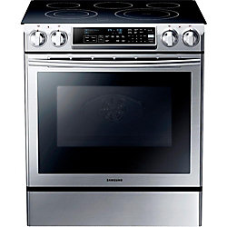 Samsung 30-inch Double Electric Free Standing Self-Cleaning Convection Oven in Stainless Steel