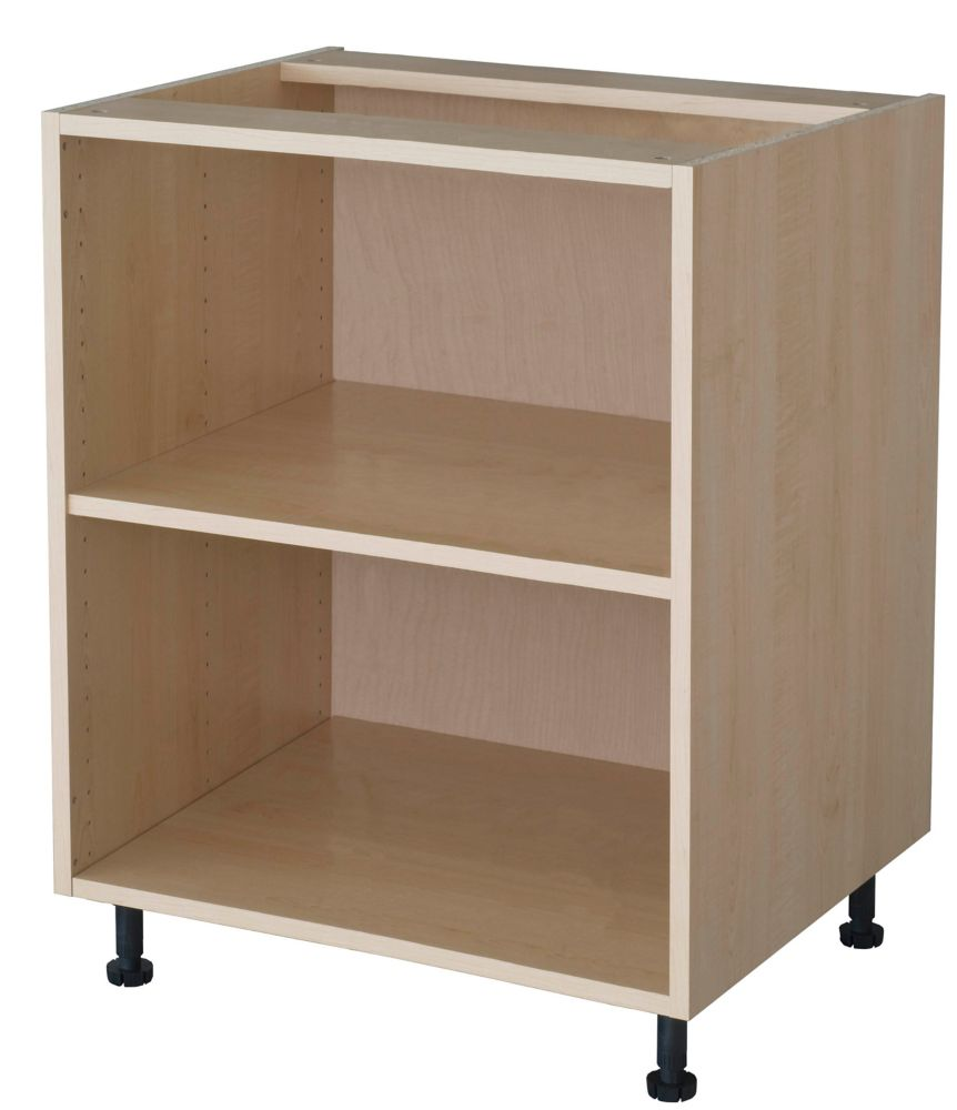 Eurostyle Wall Cabinet 24 X 15 1 8 Maple The Home Depot