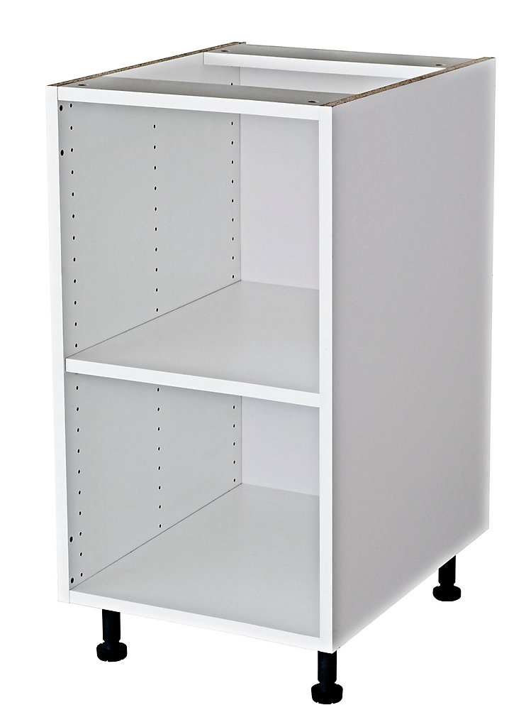 Eurostyle Base Cabinet 18 White | The Home Depot Canada