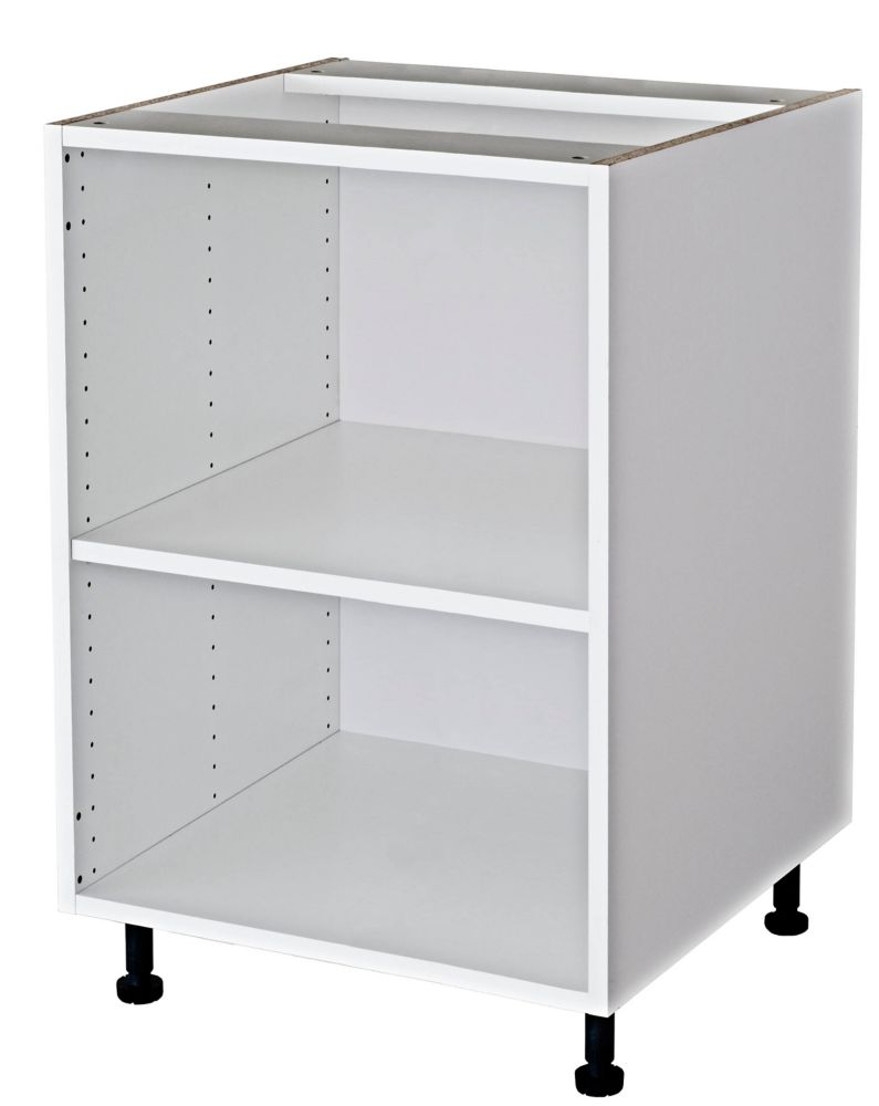 Eurostyle Base Cabinet 24 White The Home Depot Canada