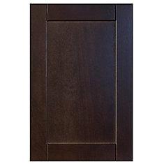 Wood Door Barcelona 15 x 22 1/2 Choco