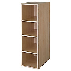 Wall Deep Cabinet 15 1/8 x 49 1/8 Maple