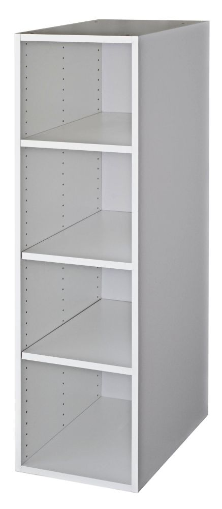 Wall Deep Cabinet 15 1/8 x 49 1/8 White