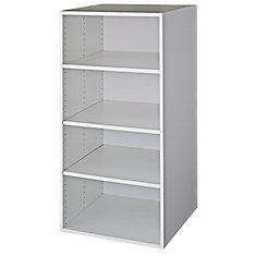 Wall Deep Cabinet 30 1/4 x 49 1/8 White