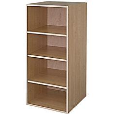 Wall Deep Cabinet 30 1/4 x 49 1/8 Maple