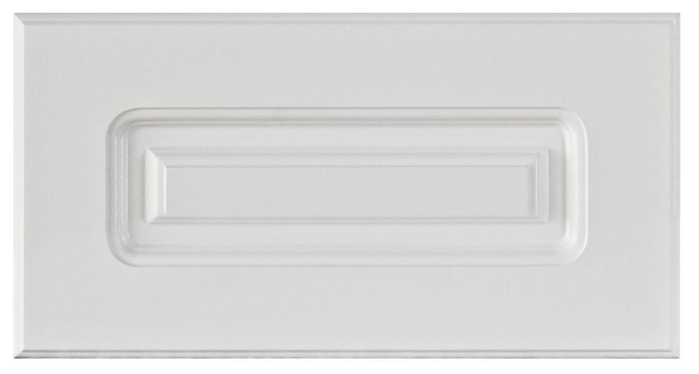 Thermo Drawer front Lausanne 15 x 7 1/2 White LAUSA.D2 Canada Discount