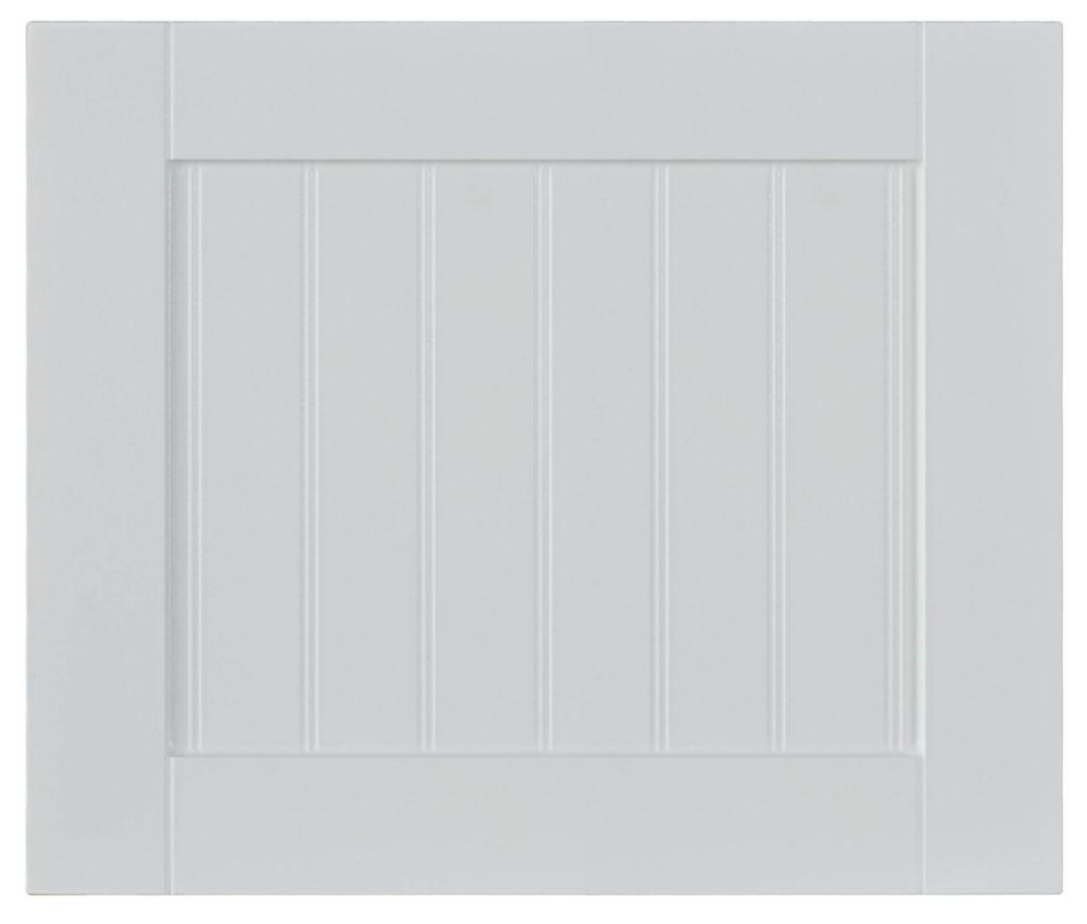 Façade Tiroir Thermo Odessa 17 3/4 x 15 Blanc