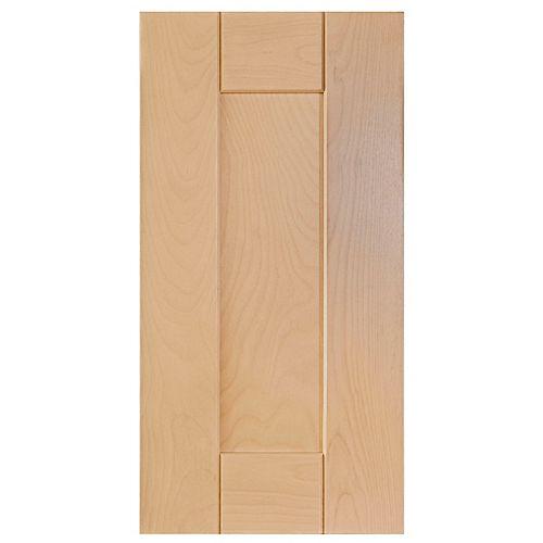 Eurostyle Wood Door Milano 11 7/8 x 22 1/2 Natural