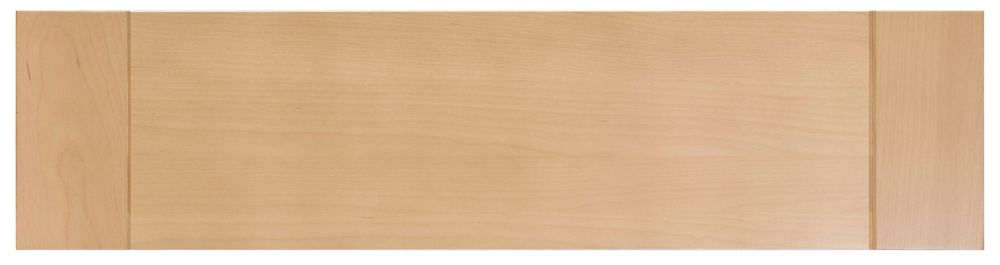Wood Drawer front Milano 30 x 7 1/2 Natural