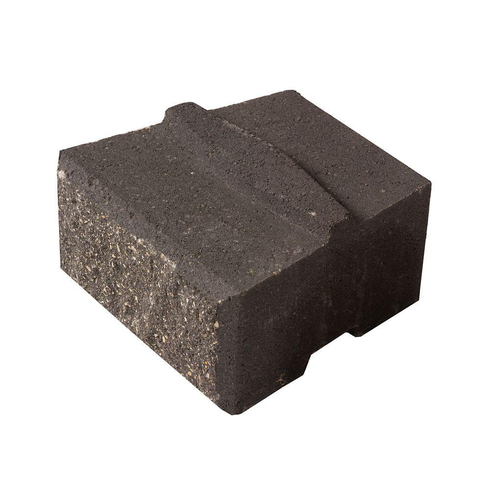 Barkman Stackstone Charcoal Retaining Wall Block