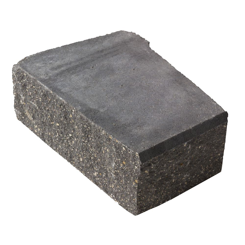 Charcoal Stackstone Advanced Corner