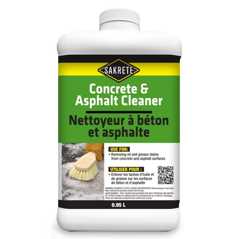 Nettoyeur à béton et asphalte, 950 ml