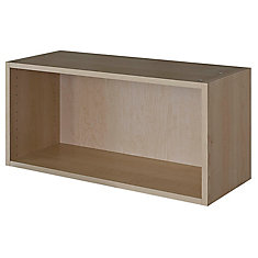 Wall Cabinet 33 x 15 1/8 Maple