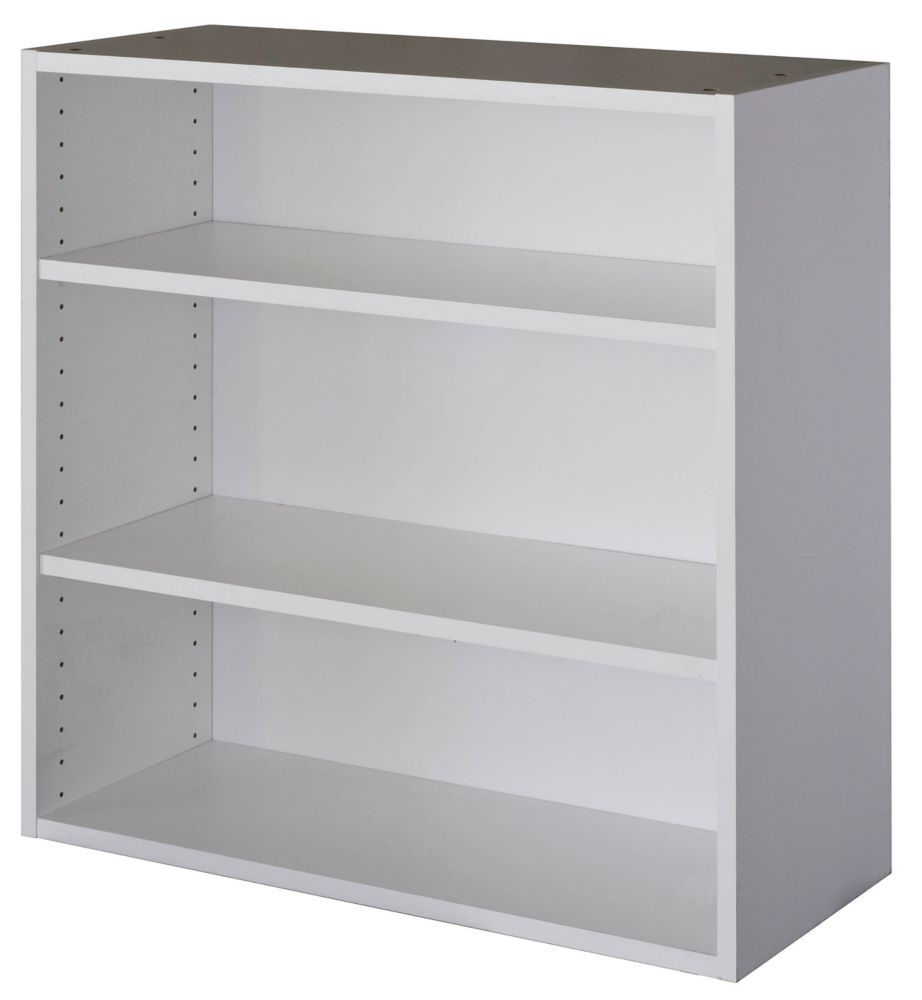 Eurostyle Wall Cabinet 33 X 30 1 4 White The Home Depot