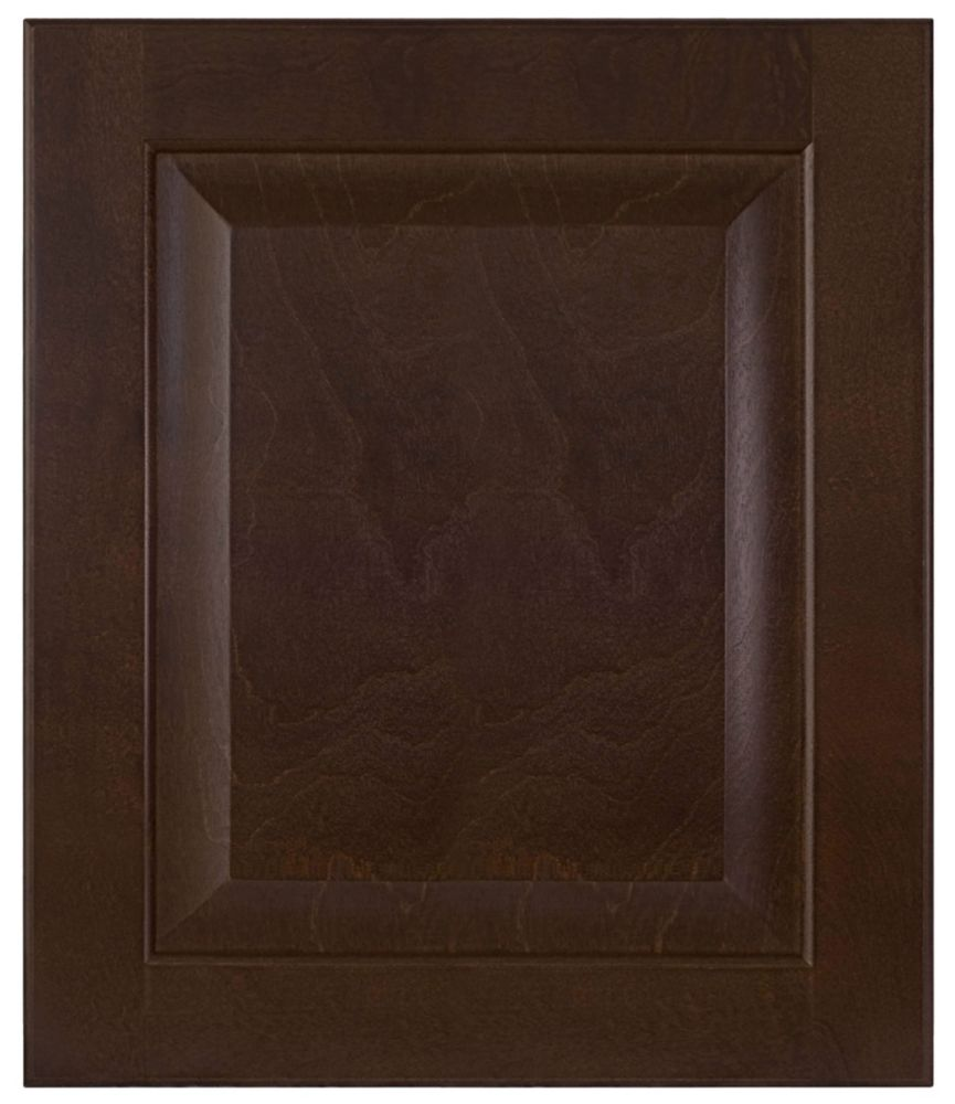 Wood Door Naples 15 x 17 1/2 Choco