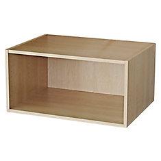 Fridge Cabinet 33 x 15 1/8 Maple