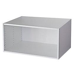 Eurostyle Meuble pour Réfrigérateur 33 x 15 1/8 Blanc