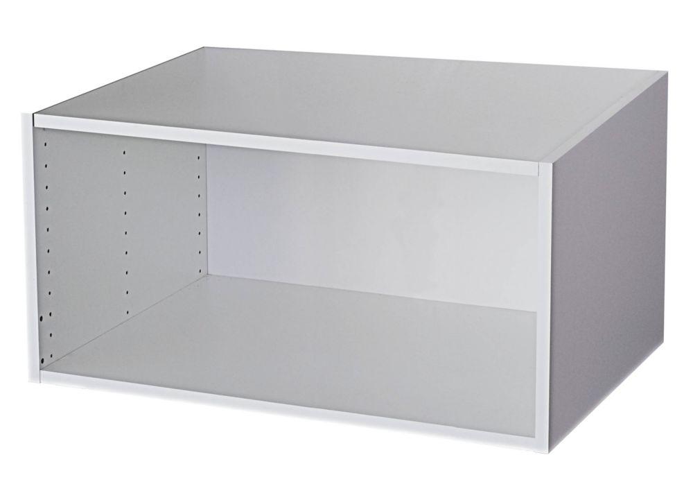 Meuble pour Réfrigérateur 33 x 15 1/8 Blanc