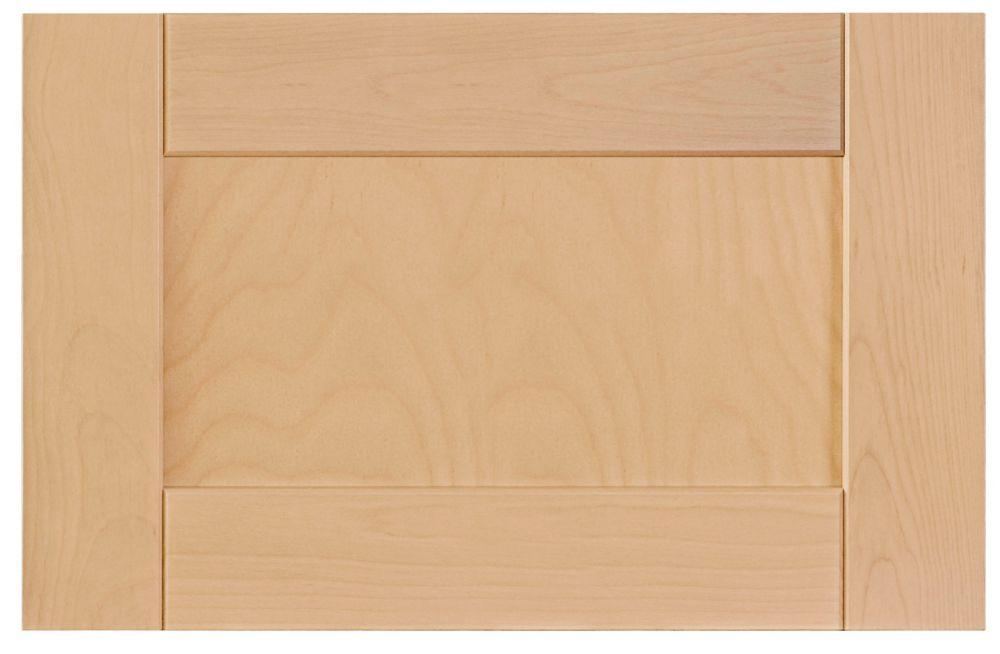 Wood Door Milano 23 3/4 x 15 Natural