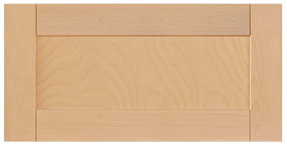 Wood Drawer front Milano 30 x 15 Natural