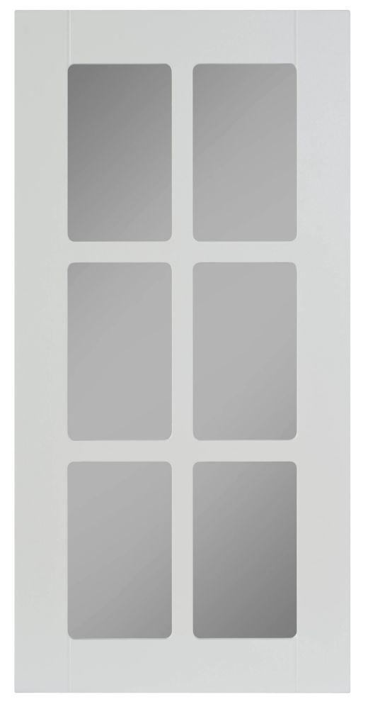 Porte Vitrée Thermo Odessa  Blanc
