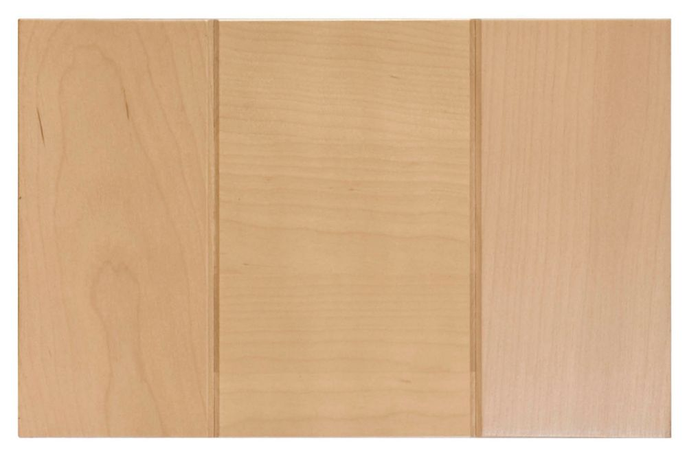 Wood Drawer front Milano 11 7/8 x 7 1/2 Natural
