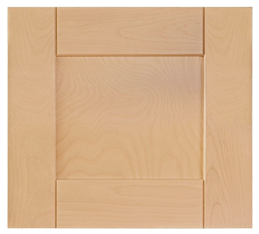 Eurostyle Wood Drawer Front Milano 17 3 4 X 15 Natural