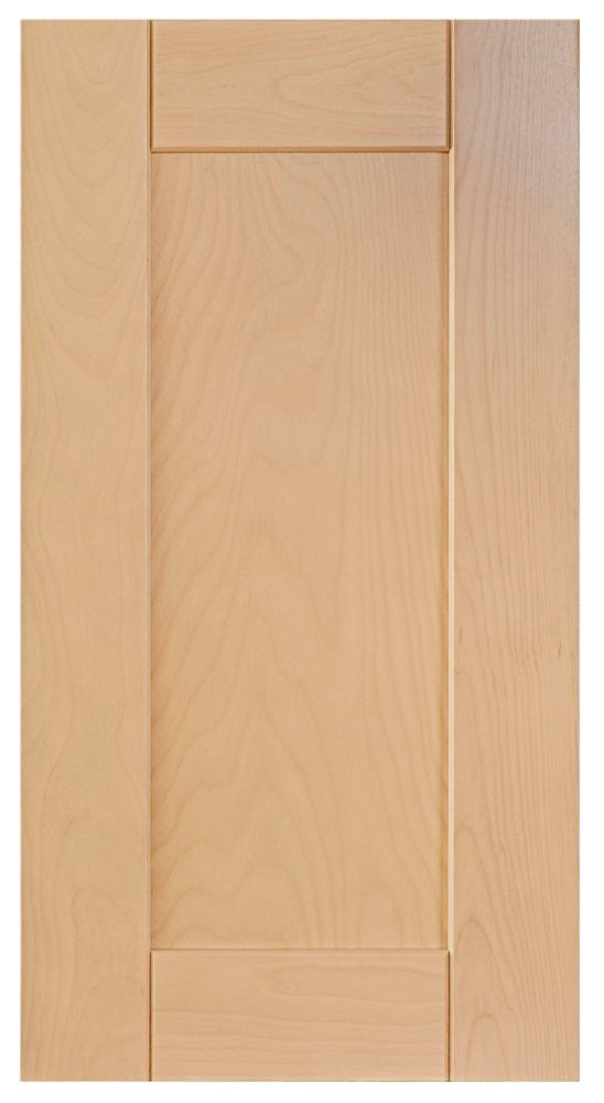 Wood Door Milano 15 x 30 1/8 Natural