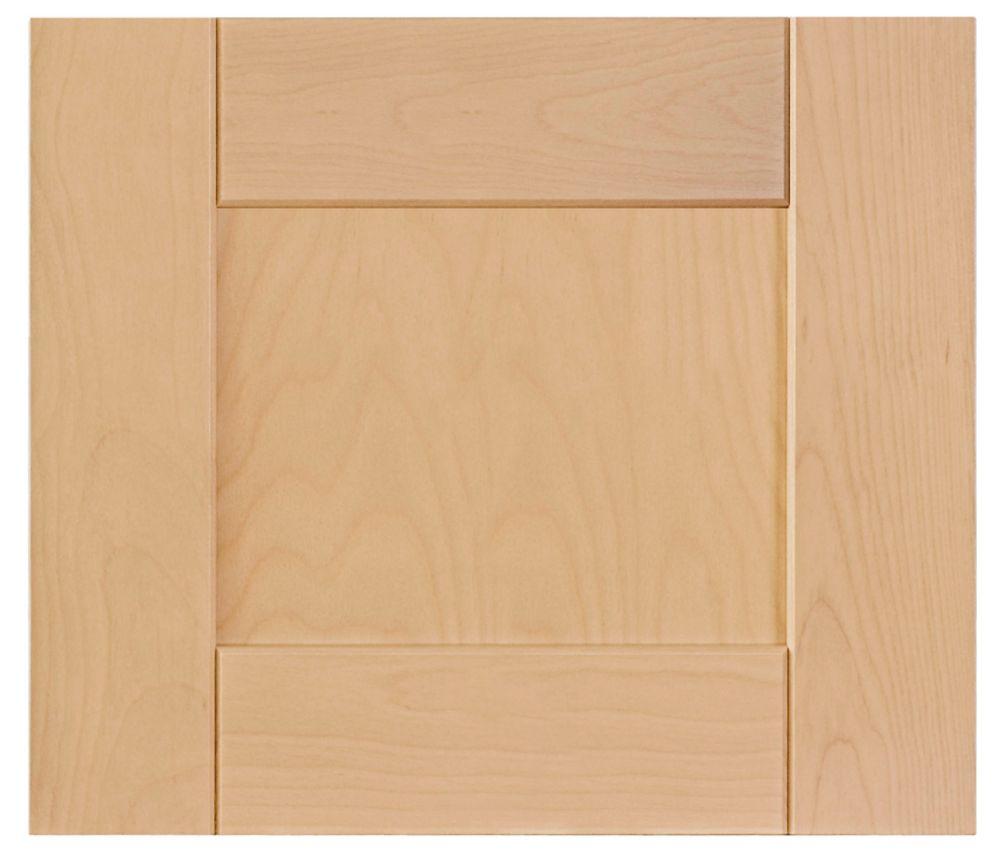 Wood Door Milano 17 3/4 x 15 Natural