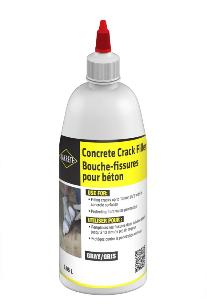 Concrete Crack Filler, 950 mL