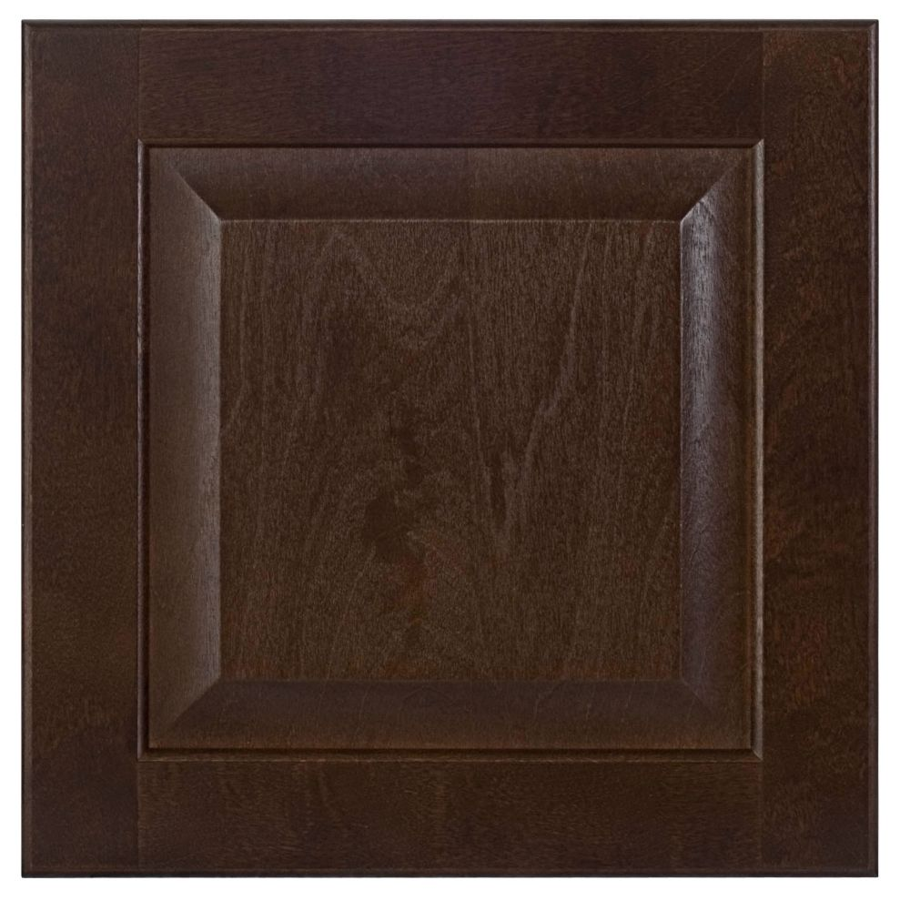 Wood Drawer front Naples 15 x 15 Choco