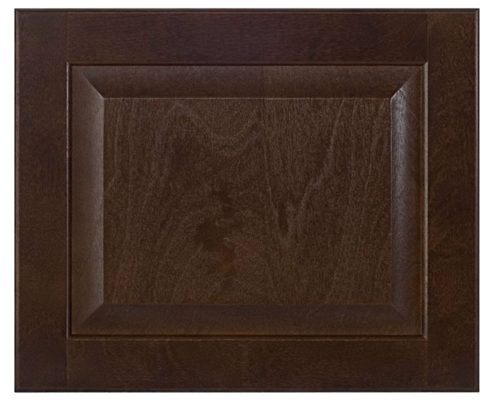 Wood Drawer front Naples 17 3/4 x 15 Choco