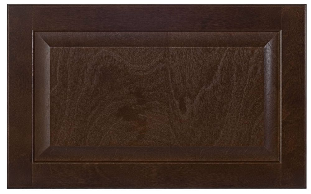 Wood Drawer front Naples 23 3/4 x 15 Choco