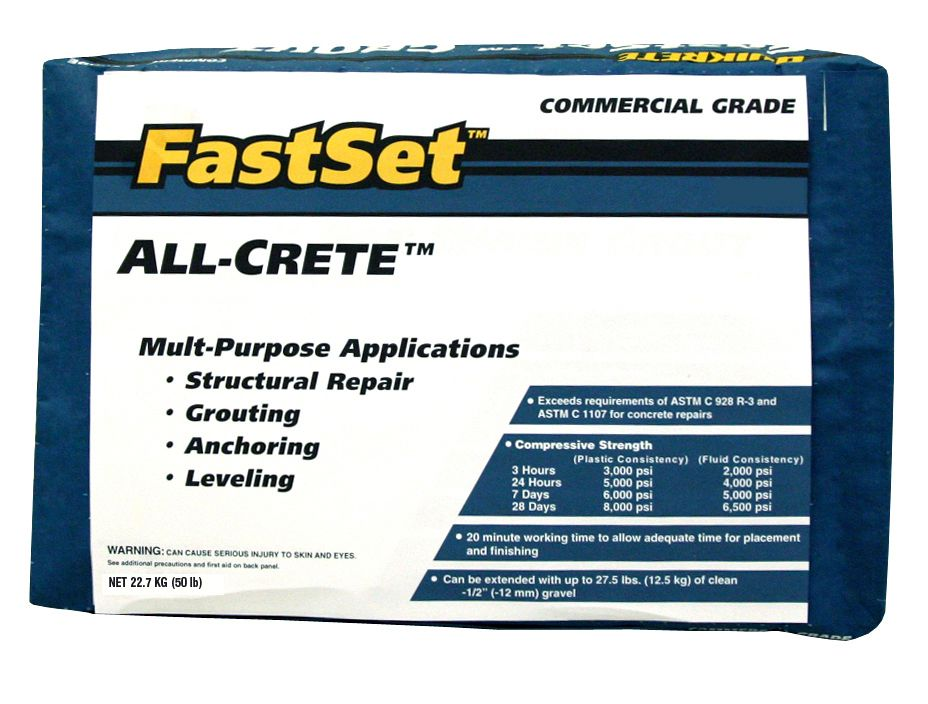 FastSet All-Crete 22.7kg