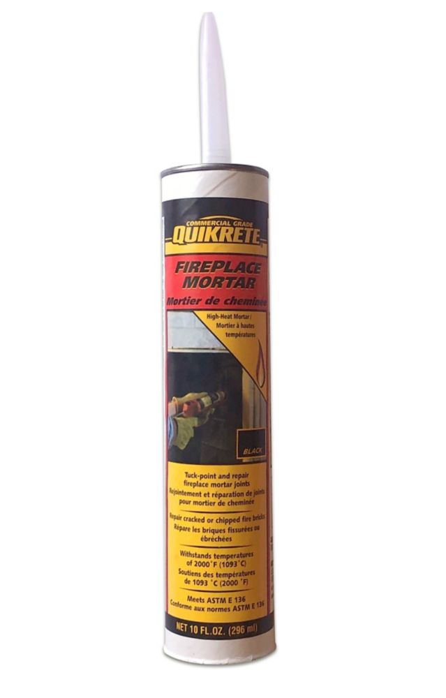 High Temperature Mortar : Quikrete high heat fireplace mortar ml the home depot