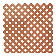 4 ft. x 8 ft. Redwood Garden Lattice
