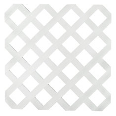 Veranda 2x8 White Reg Plastic Lattice