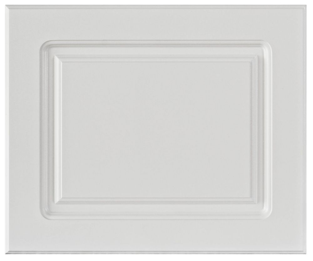 Thermo Door Lausanne 17 3/4 x 15 White