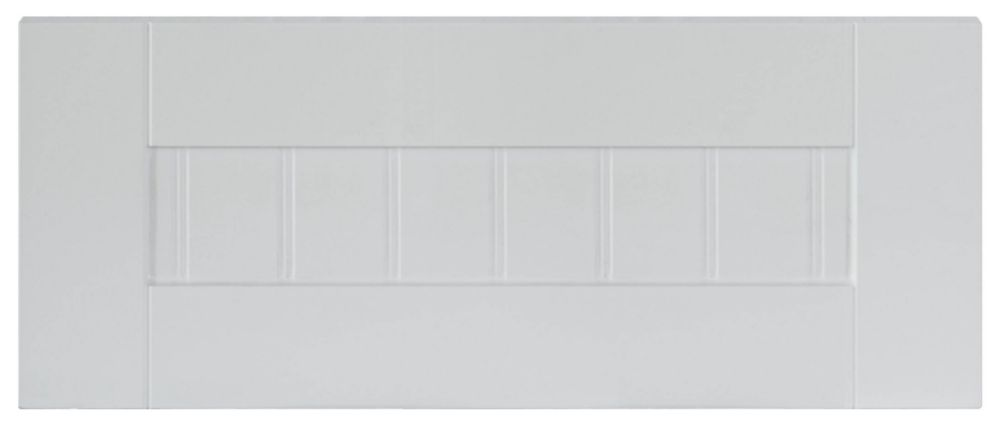 Thermo Drawer front Odessa 17 3/4 x 7 1/2 White