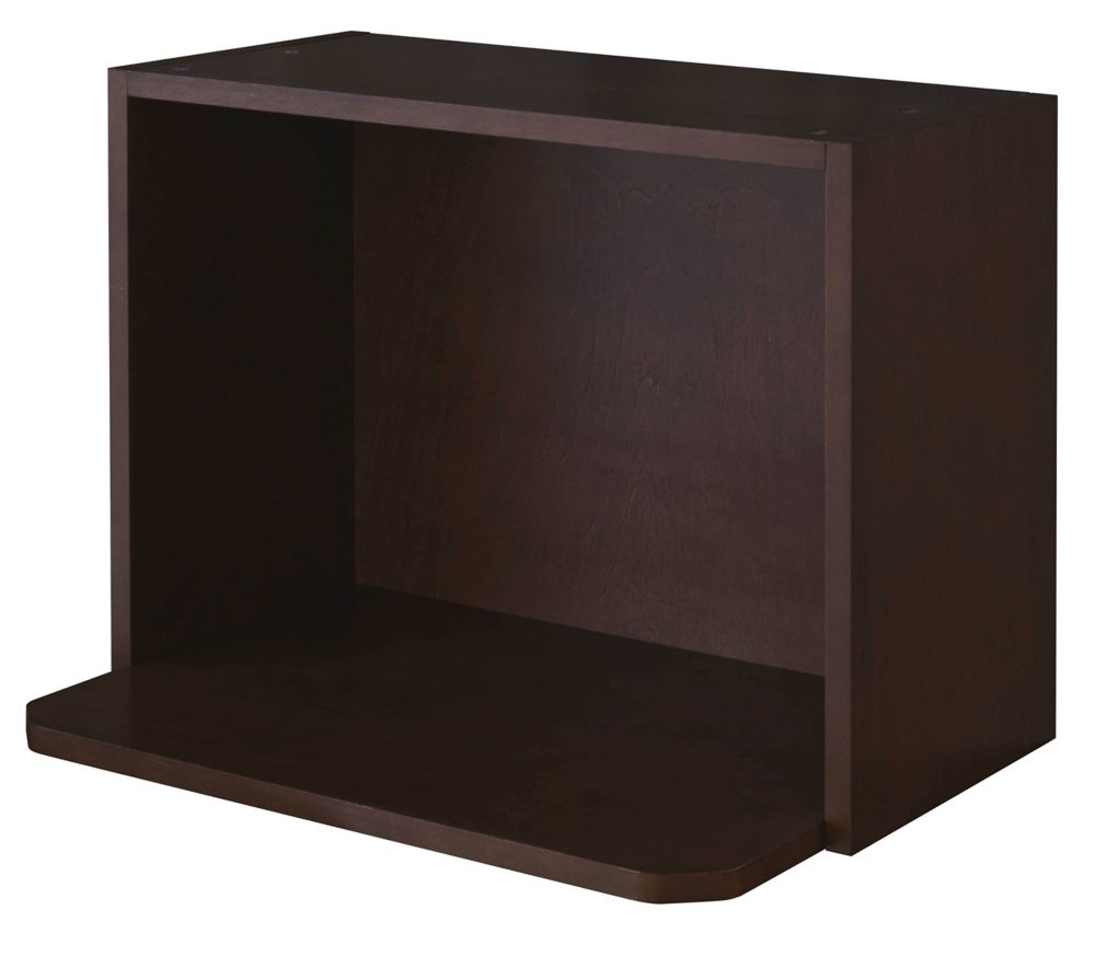 Eurostyle Microwave Cabinet 24 X 17 5 8 Veneer Choco The