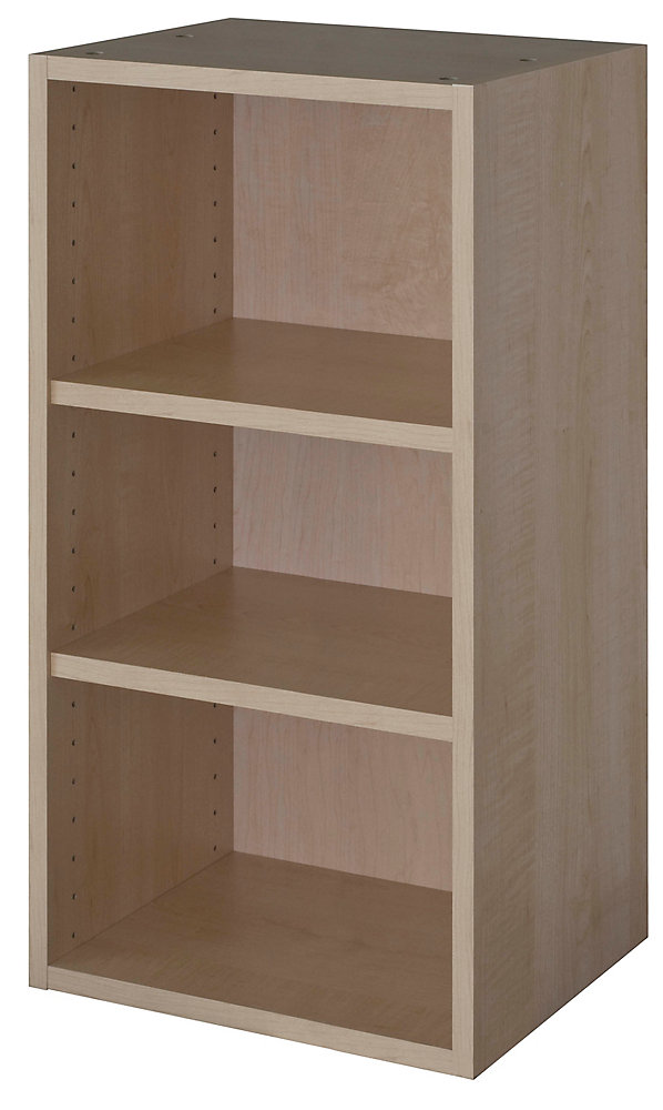Pleasant Eurostyle Wall Cabinet 18 X 30 1 4 Maple Beutiful Home Inspiration Semekurdistantinfo