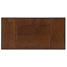 Wood Drawer front Lyon 15 x 7 1/2 Blossom